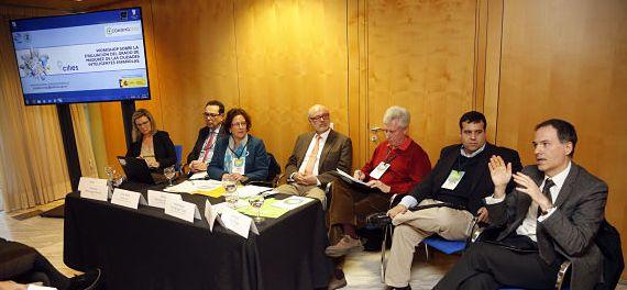 Mesa Workshop sobre la Evaluación del Grado de Madurez de la Ciudad Inteligente Españolas (Smart City)
