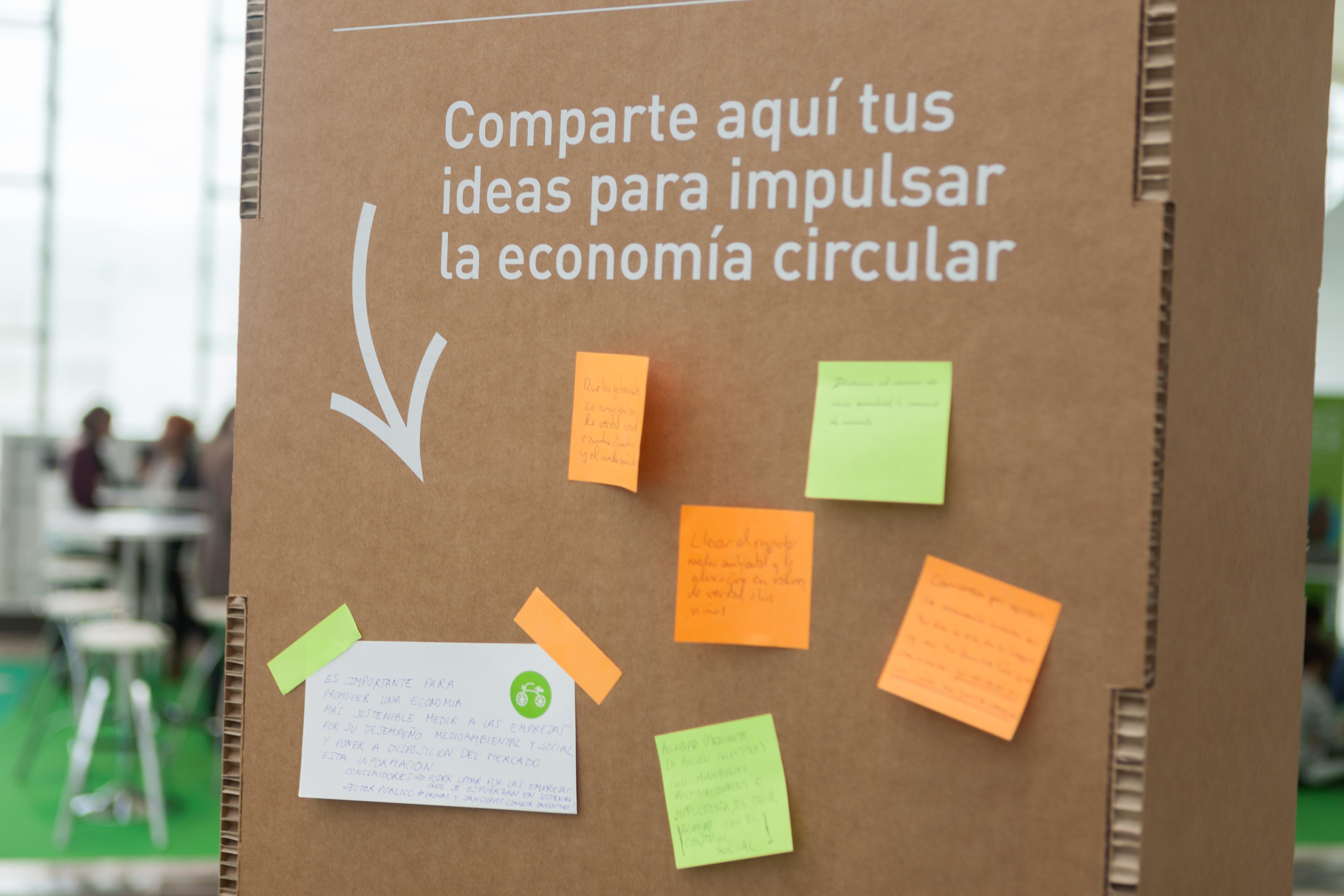- Ideas para impulsar la economía circular