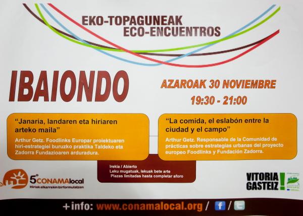 Eco-encuentro Ibaiondo 2